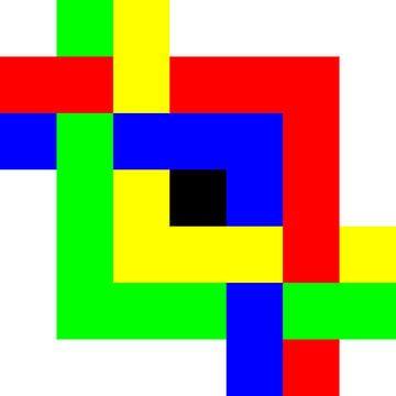 Onder en boven | Permutatie | ID=07 | V=08 | 4xL | P #01-E van Gerhard Haberern