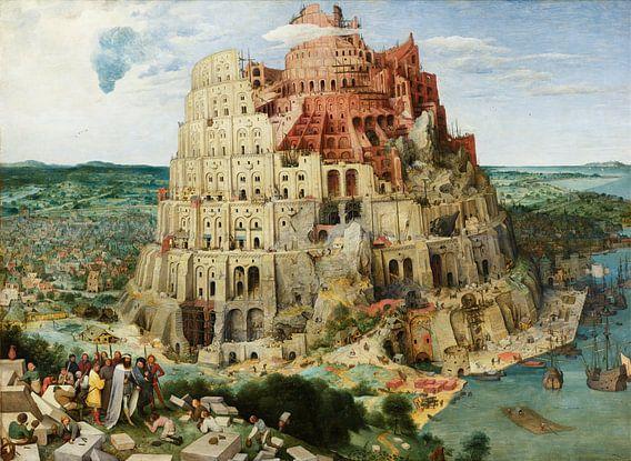 Der Turm von Babel - Pieter Bruegel von Hollandse Meesters