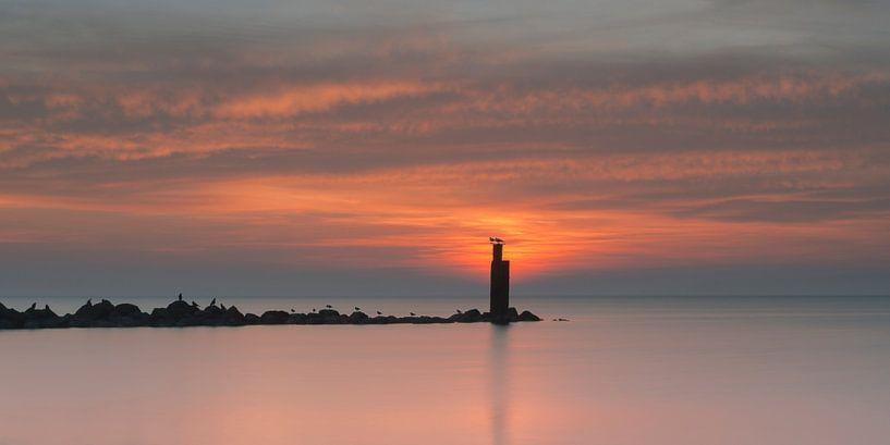 Sea silence van Aline van Weert