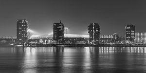 """Feyenoord Stadion """"De Kuip"""" 2017 in Rotterdam (formaat 2/1)"""