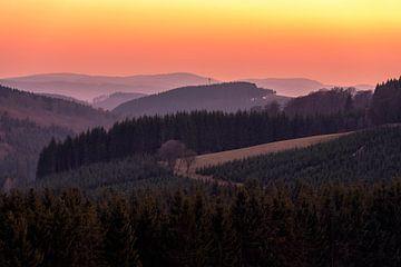 Sauerland - Land van de duizend bergen van Deimel Fotografie
