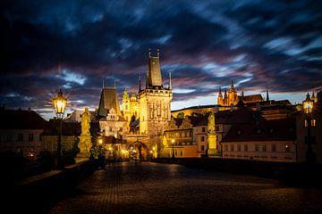 Prag am Abend von Antwan Janssen