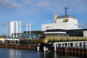 Nuon elektriciteitscentrale centrale, Diemen. van