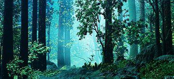 Innerhalb des Waldes von Angel Estevez
