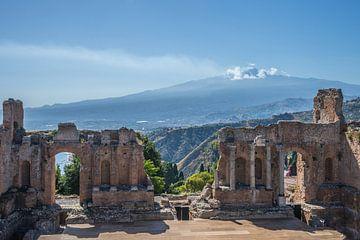 Sicilië-Etna van Bianca Boogerd