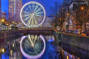 Riesenrad Die Aussicht Rotterdam von