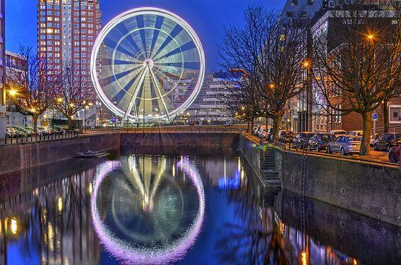 Reuzenrad The View Rotterdam van Frans Blok