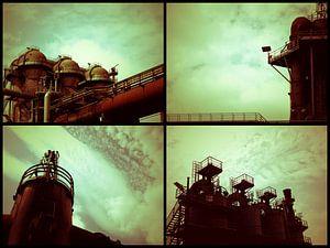 Buitenaardse landschappen collage van Carin Klabbers