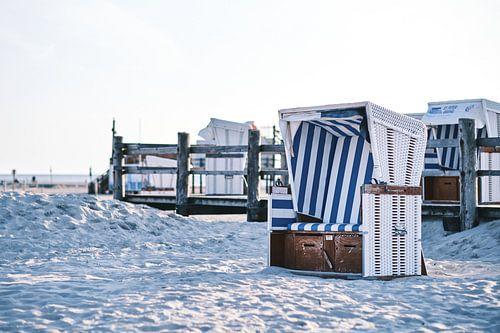 Strandkorb in Sankt Peter-Ording