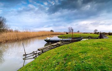 Fischerboote von Jan Koppelaar