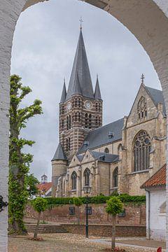 Thorn, het witte stadje in Limburg (Nederland) van Eric Wander
