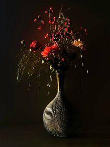 Bloemen in zonlicht van Ben Bokeh