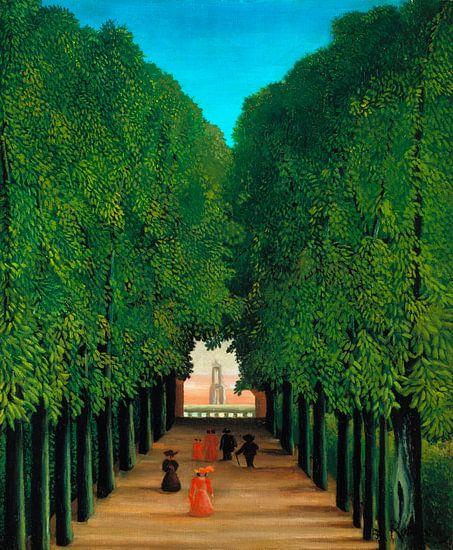 Henri Rousseau. The Avenue in the Park at Saint Cloud