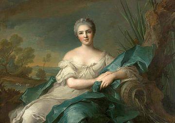 Madame Maria-Thérèse-Victoire de France - Das Wasser, Jean-Marc Nattier