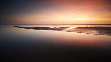 Zonsondergang Zandvoort #02 van Gerhard Niezen Photography