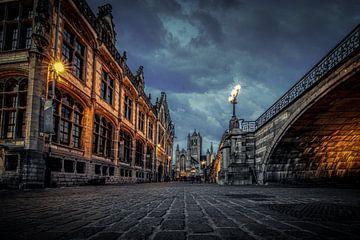 Gent : unter der Brücke von Jim De Sitter