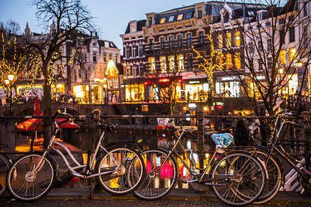 Fietsen aan de Oudegracht in Utrecht von De Utrechtse Internet Courant (DUIC)