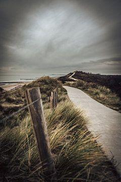 Winter an der Küste von Jolanda Bosselaar