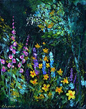 Garden flowers sur pol ledent