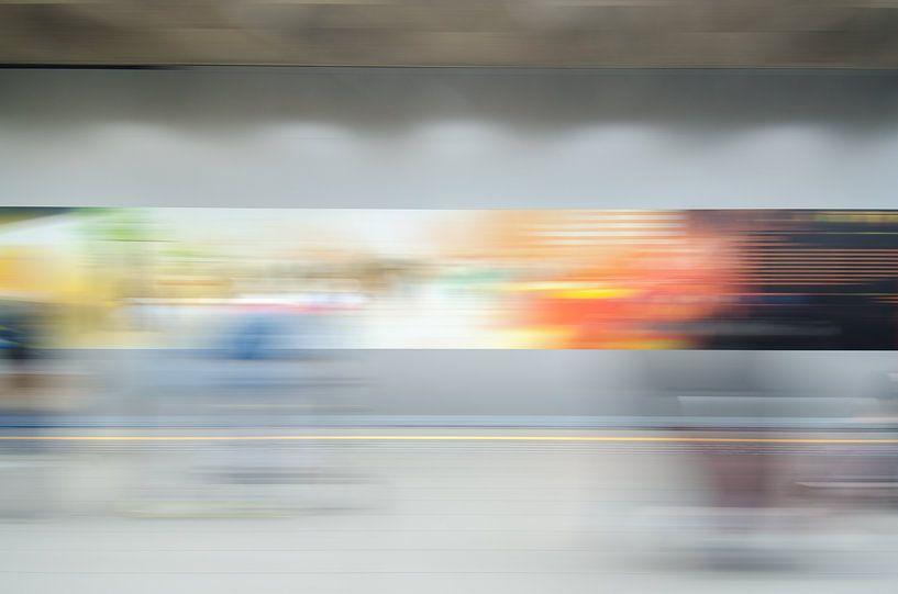 Abstracte fotografie 1 van Mark Bolijn
