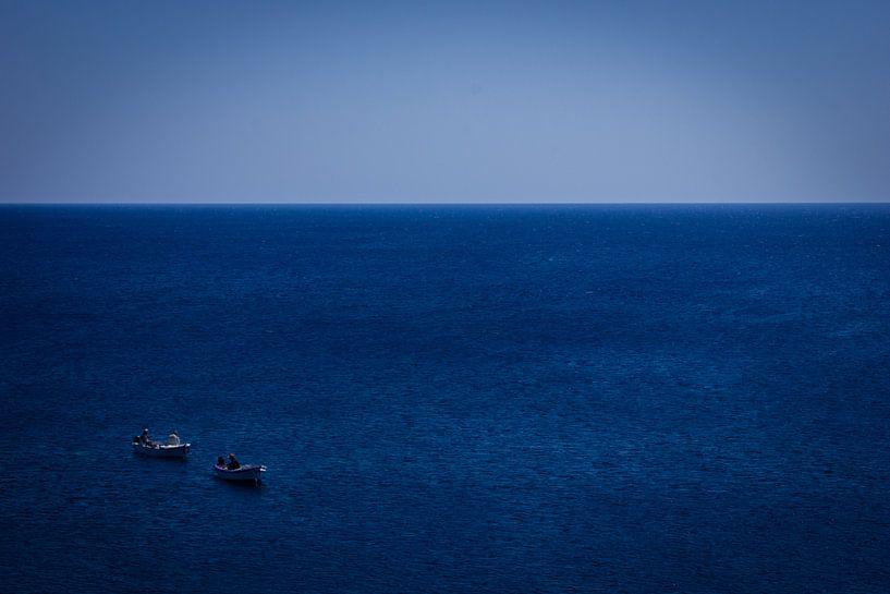 Vissers op open zee van Robin Steen