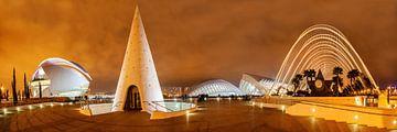 Valencia  stad van kunsten en wetenschappen van Ko Hoogesteger
