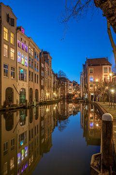 Utrecht Oudegracht Lichte Gaard en Lijnmarkt van André Russcher