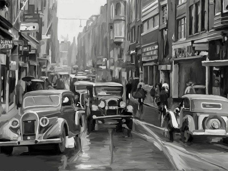 Amsterdam 1937 von Berrie Coelman