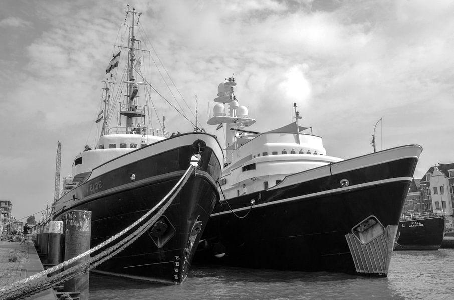Zusterschepen Elbe en Clyde