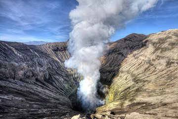 Bromo vulkaan van x imageditor