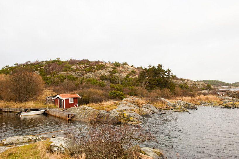 Zee inham in Zweden van Marianne Rouwendal