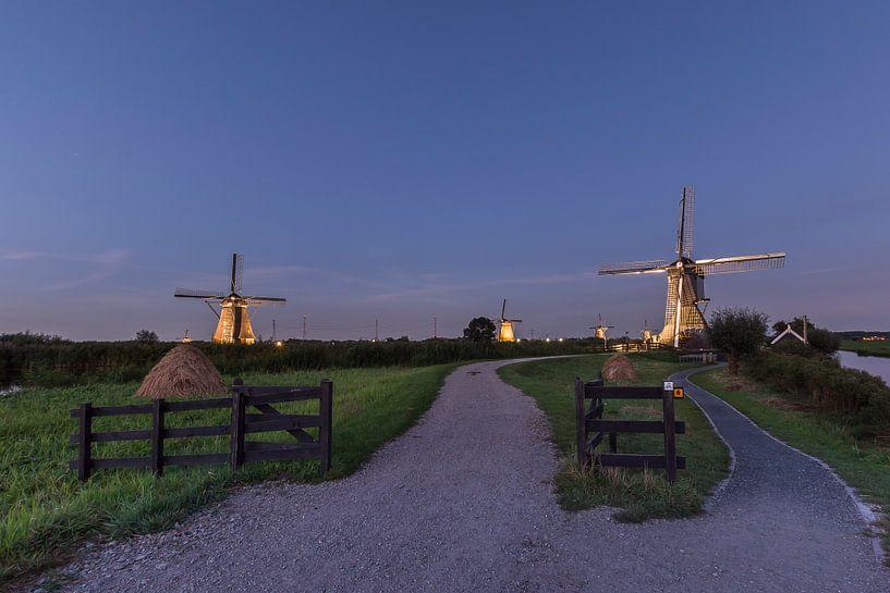 Verlicht Kinderdijk 2016 van Jan Koppelaar