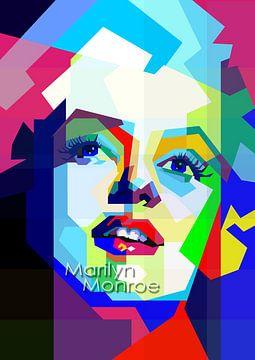 Innocence Monroe In Farbe von Fariza Abdurrazaq