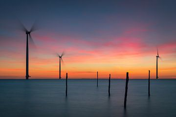 Pastel Colors Sunset von Edwin Mooijaart