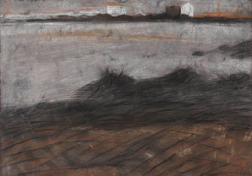 Umberto Boccioni Landschaft von finemasterpiece