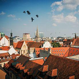 Bratislava - Vieille ville / Toiture sur Alexander Voss