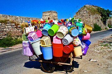Farben in Istanbul von Vera Cerutti