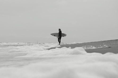 Surfing the foam van
