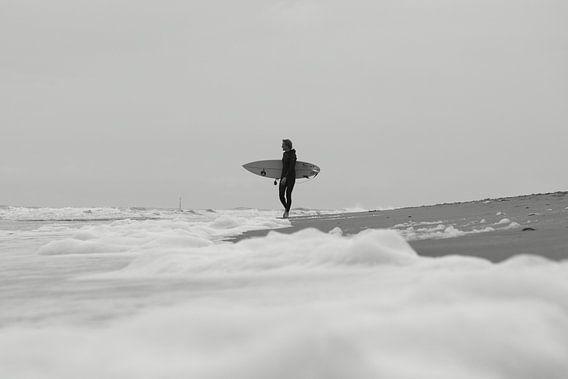 Surfing the foam
