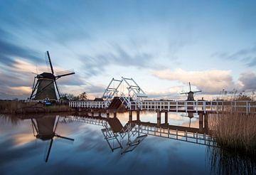 Molens, Kinderdijk, Windmills, Kinderdijk, Moulins de Kinderdijk,Kinderdijk, Windmühlen. van Ron Westbroek