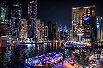 Marina de Dubaï sur Bas Fransen