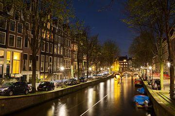 Leidsegracht in Amsterdam van Dirk Rüter