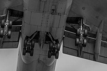 Boeing 747 landing op schiphol von byFeelingz