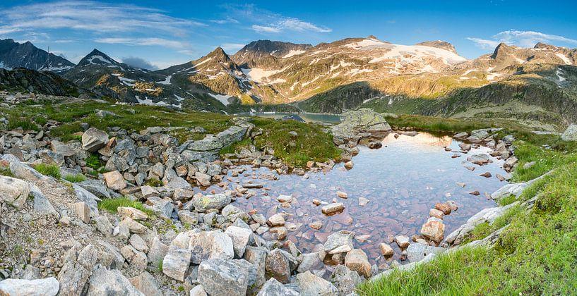 Oostenrijkse Alpen - 3 van Damien Franscoise