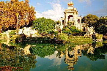 Barcelona / Spanje / Reflectie van Sabrina Varao Carreiro