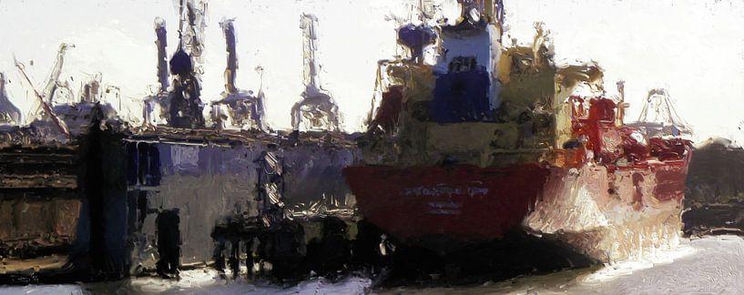 Schiffswerft Damen von Frans Jonker