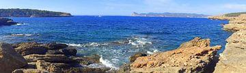 Kustlijn Ibiza Panorma von Picture Jo