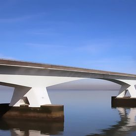 zeelandbrug 2 van Yvonne Blokland