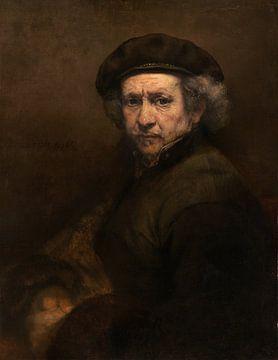 Self-portrait, Rembrandt van Rijn sur