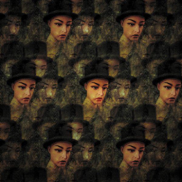 Golvend patroon van portretten van Ruben van Gogh